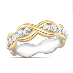 New Nice infinity sign love rings S925&18k plated